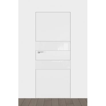 А2 стекло белое, черное с коробкой скрытого монтажа